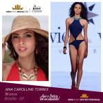 Ana Carolline Torres is representing DISTRITO FEDERAL at Miss Mundo Brasil 2016