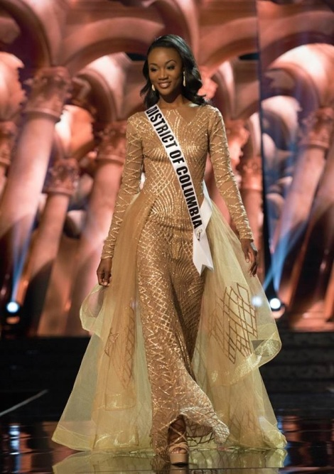 Deshauna Barber from District of Columbia is Miss USA 2016