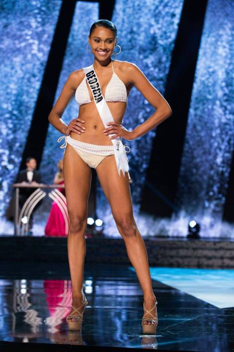 Emanii Davis, Miss Georgia  USA 2016 is one of our favorite to win Miss USA 2016 pageant in Miss USA 2016 Final Hotpicks