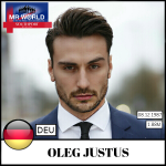 Oleg Justus Mr Germany, will represent Germany at Mr World 2016