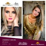 Kimberly Maciel is representing GRANDE OESTE CATARINENSE at Miss Mundo Brasil 2016