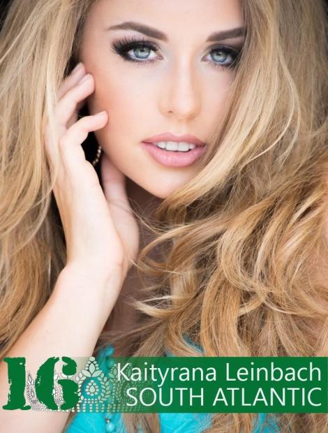 Kaitryana Leinbach won Miss US International 2016 she will represent USA at Miss International 2016