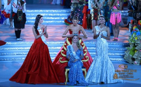 Miss World 2016 will take place on 19th December 2016 in Washington D. C Mieria Lalguna Royo of Spain will crown her successor at the end of the event