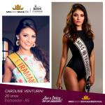 Caroline Venturini is representing RIO GRANDE DO SUL at Miss Mundo Brasil 2016