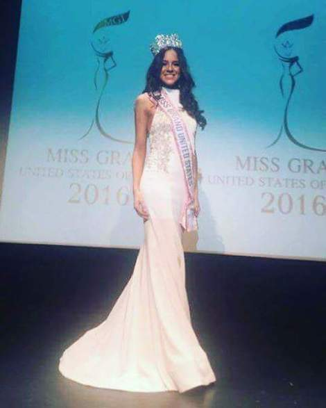 Michelle Leon is Miss Grand USA 2016