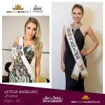 Leticia Angelino is representing VALE DO ITAJAÍ - SC at Miss Mundo Brasil 2016