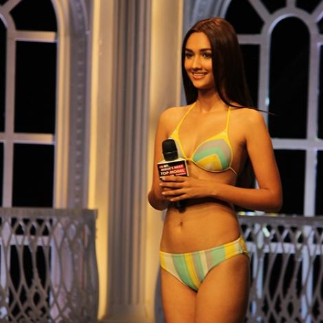 Akanksha Sharma in India's Next Top Model Season 2 Bikini Pictures