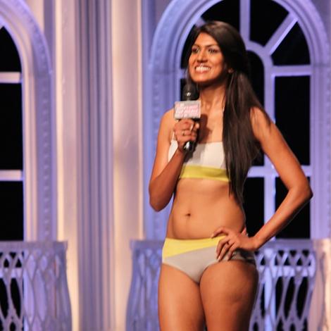 Ashmita Jaggi in India's Next Top Model Season 2 Bikini Pictures