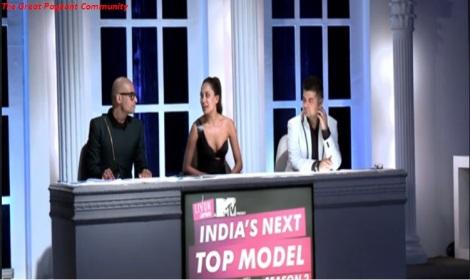 India's Next Top Model Season 2 Episode 1