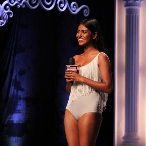 Poulomi Das in India's Next Top Model Season 2 Bikini Pictures