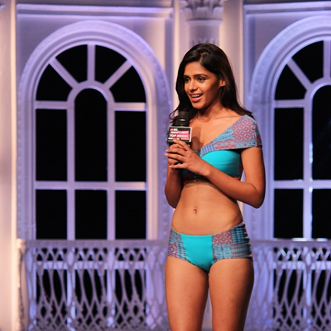 Pranati Prakash in India's Next Top Model Season 2 Bikini Pictures