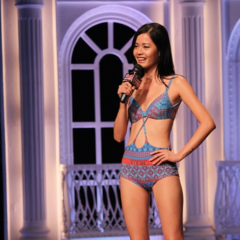 in India's Next Top Model Season 2 Bikini Pictures