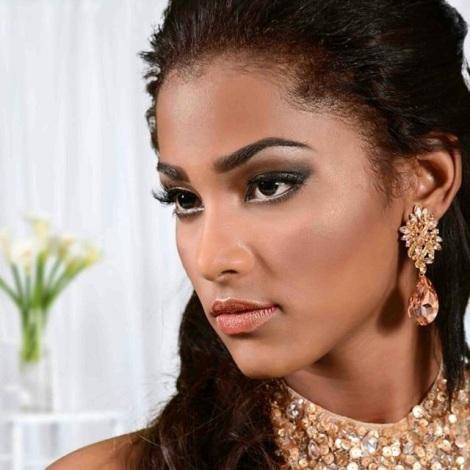 Kerelyne Webster has been crowned as Señorita Honduras 2016