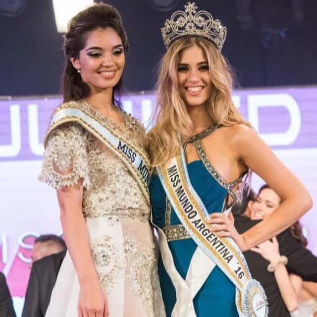 Elena Roca has been crowned as Miss World Argentina 2016
