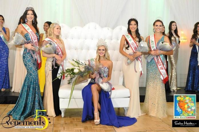 Tamara Jemuovic crowned as Miss Earth Canada 2016