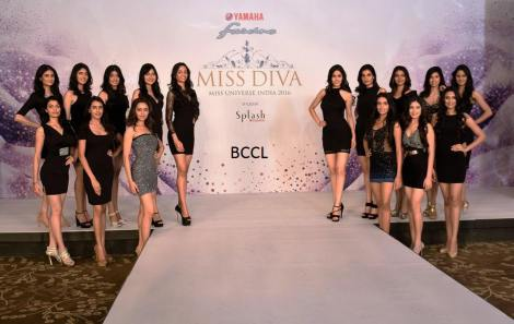 Miss Diva 2016 contestants
