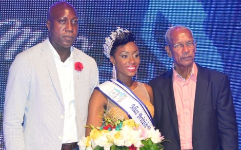 Erika Creque is Miss British Virgin Islands 2016