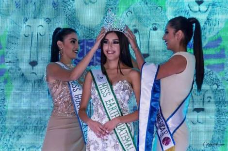 Stephanie Judith Sical Salazar is Miss Earth Guatemala 2016