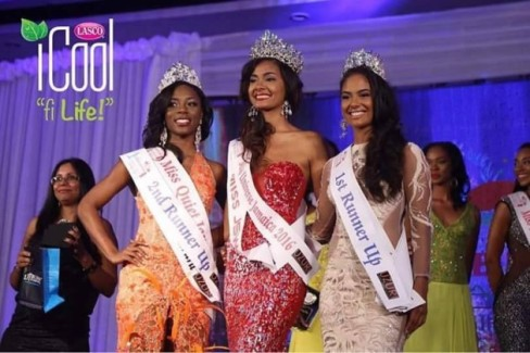 Isabel Dalley crowned Miss Universe Jamaica 2016