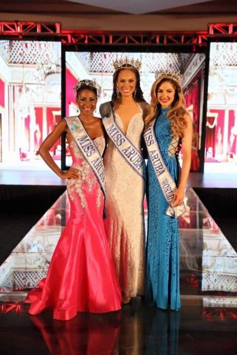 Charlene Leslie is Miss Universe Aruba 2016