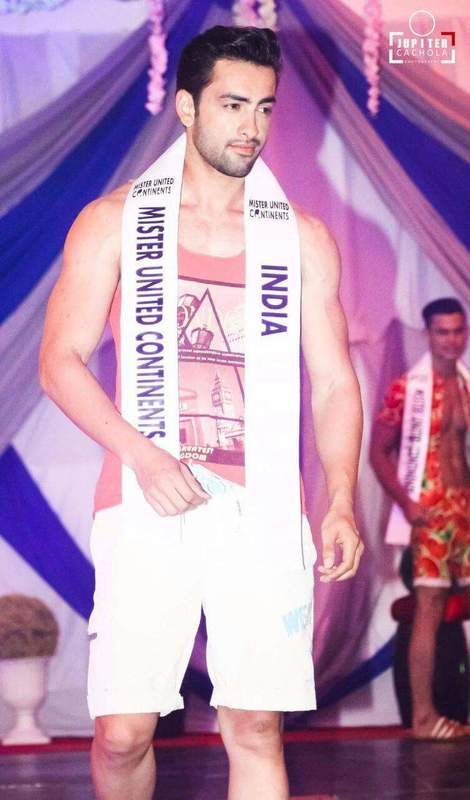 Mohit Singh, Mister United Continents 2016
