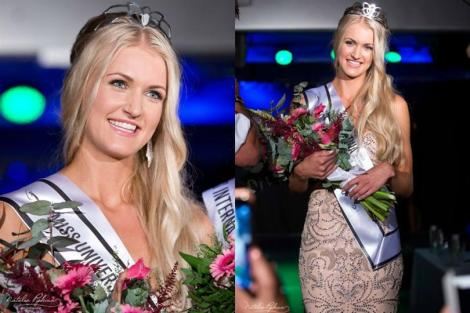 Christina Waage is Miss Universe Norway 2016