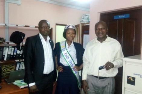 Josephine Kamara is Miss Earth Sierra Leone 2016
