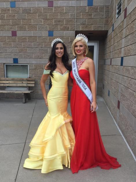 Brooke Bezanson won Miss Montana USA 2017 she will represent Montana at Miss USA 2017 pageant
