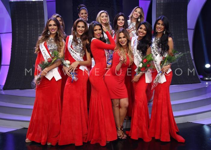 Miss Venezuela 2016 Mid Length Photo Shoot & sub contest winners