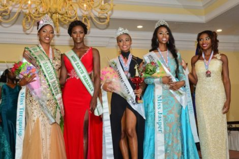 Candisha Rolle crowned as Miss Earth Bahamas 2016