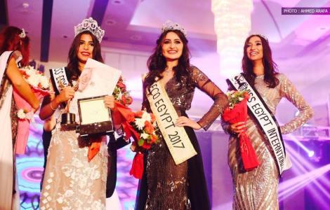 Nadeen Osama El Sayed is Miss Egypt World 2016