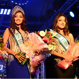 Amber Korimdun is Miss Earth Mauritius 2016