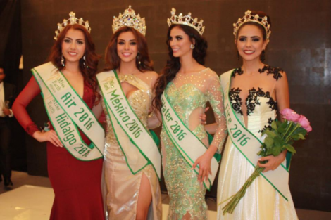 Itzel Paola Astudillo crowned Miss Earth Mexico 2016