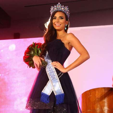 Alessandra Camila Bueno Fontaine is Miss World Panama 2016