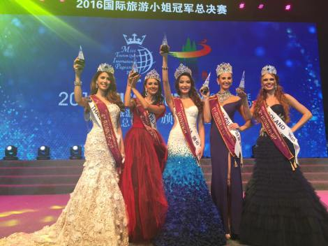 Anu Namshir from Mongolia crowned Miss Tourism Queen International 2016