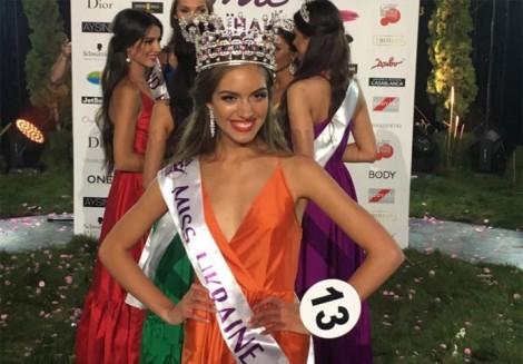 Oleksandra Kucherenko crowned Miss Ukraine 2016