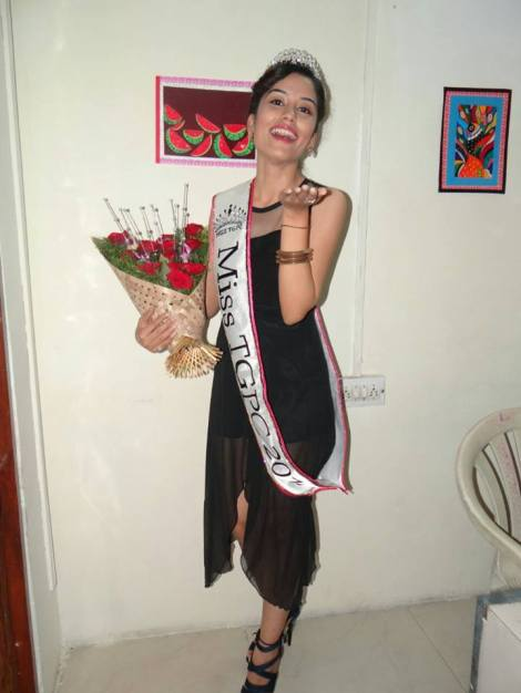 Bhairavi Burad is Miss TGPC 2016