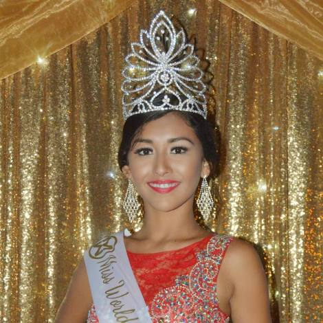Iris Salguero Miss World Belize 2016