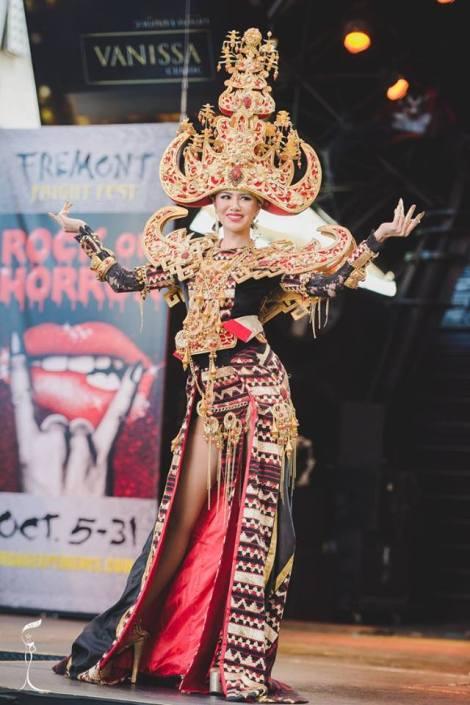Miss Indonesia Ariska Putri Pertiwi won Miss Grand International 2016