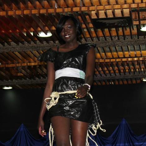 Miss South Sudan - Akuany Ayuen