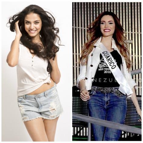 Meet the dead ringer of Manasi Moghe at Miss Venezuela 2016