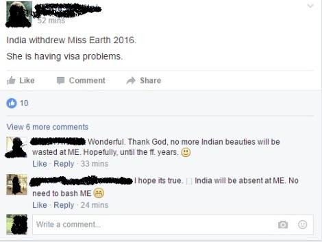 Miss Earth India 2016