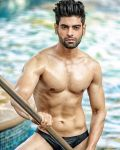 Bharat Sainani during Mr.India 2016 Bare Body Photo Shoot