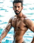 Colin Jacob during Mr.India 2016 Bare Body Photo Shoot