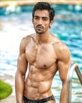 Lalit Choudhary during Mr.India 2016 Bare Body Photo Shoot