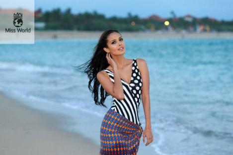 Miss World 2013 Beach Beauty Megan Young