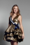 Claire Godard is representing Alsace at Miss France 2017