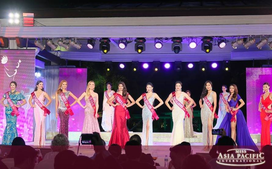 Miss Asia Pacific International 2016 Top 10