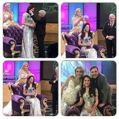 Appointing Diana Croce as Miss World Venezuela 2016