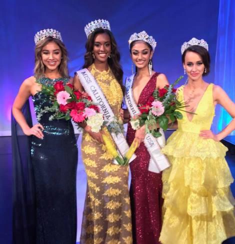 Miss Santa Monica,India Williams wins Miss California USA 2017. India will represent California at Miss USA 2017